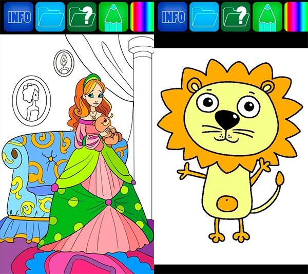 5 apps para aprender jugando Dibujos para colorear