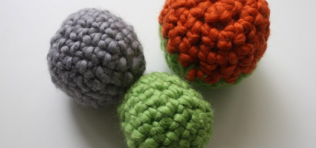 Crocheted Toddler Toy