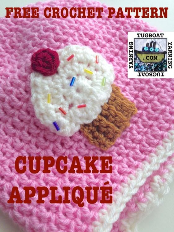 CupcakeAppliqueCrochet