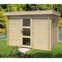 Small Crop Of Modern Log Cabin