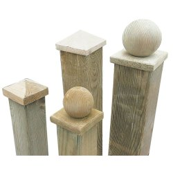 Small Crop Of Wooden Fence Post