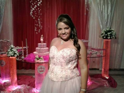 Foto Ana Beatriz 15 anos