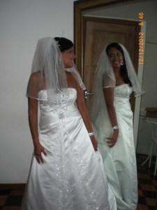 Foto da noiva Marcelle Adelino, casamento dia 12.12.12, PalladiumM.Graças