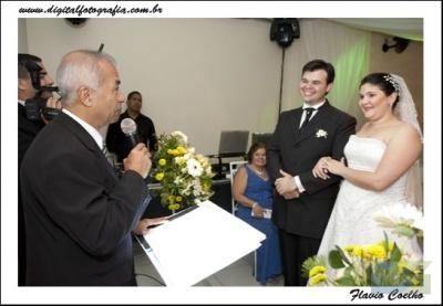 Foto do celebração do casamento de Daniel e Daniela 13.8.11