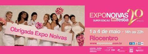 foto do banner da Expo Noivas