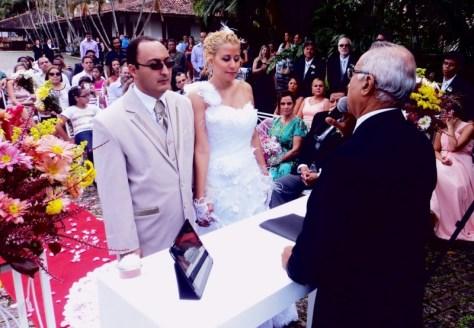 foto cerimônia de Heberson e Prisicila, 21.6.14, Vargem Grande