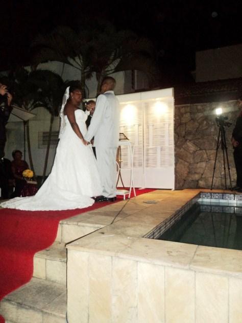 foto da cerimônia Cristiano e Maiara, 21.6.14, Toca das festas, Bangu