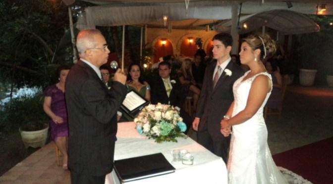 Celebrações de casamento com o Mestre de Cerimônias Túlio de Pinho