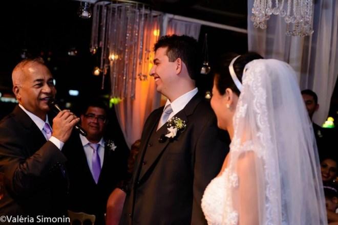 foto momento da cerimônia thais filha