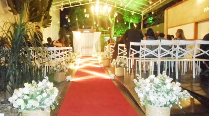 Celebrante de Casamento em Casa de festas Monet, Rio de Janeiro