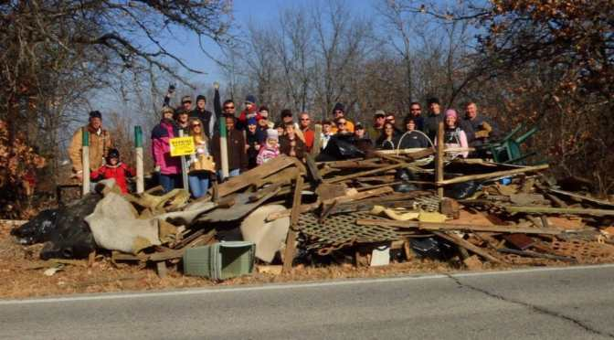 Tulsa World: Volunteers Clean Up!