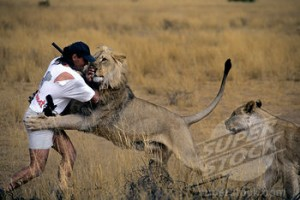 How Zimbabwe Man Survived 'Face To Face' Lion attack