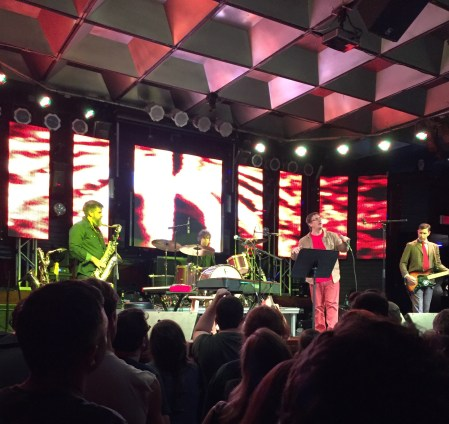 The Mountain Goats, at the Culture Room in Fort Lauderdale, Fla., on Oct. 7, 2015.