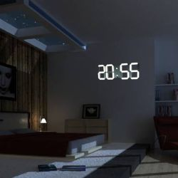 Small Of Digital Clock For Living Room