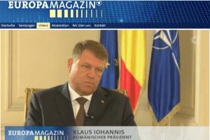 Iohannis europamagazin