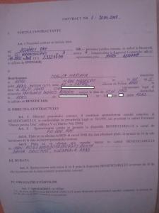 Contract Malita 1