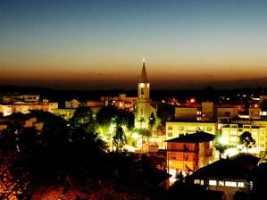 Vista noturna de Carlos Barbosa - Foto: Leandro Facchini