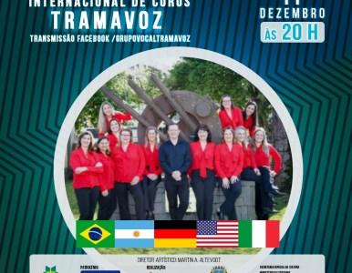 Grupo Vocal Tramavoz realiza 1º Festival on-line Internacional de Coros