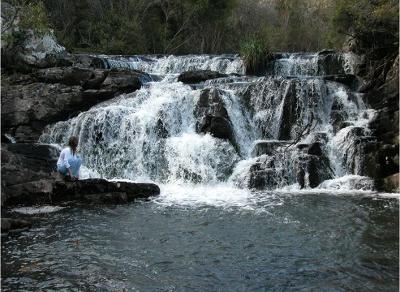 Cascada en la Quebrada