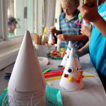 DIY Party Hat Decoration Station