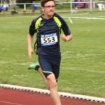 Marvin beim Sprint