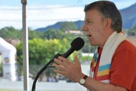 Santos exige al Eln que dé demostraciones de paz