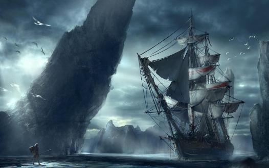 barco fantasia