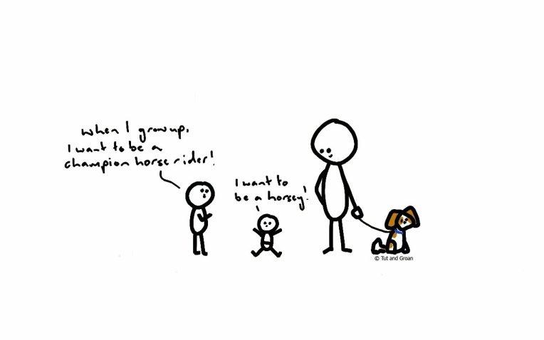Tut and Groan Things My Nephew Says part 3 cartoon