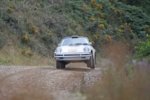 Tuthill Porsche tests classic 911 for East African Safari Rally