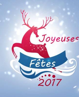 Réaliser une carte pour les fêtes de fin d'année 2017