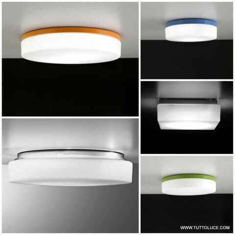 lampade moderne vetro soffiato
