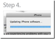 Update iPhone 3G firmware 3.0