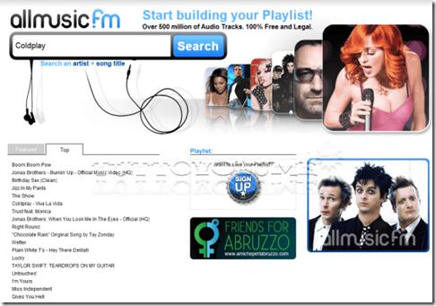 allmusic.fm