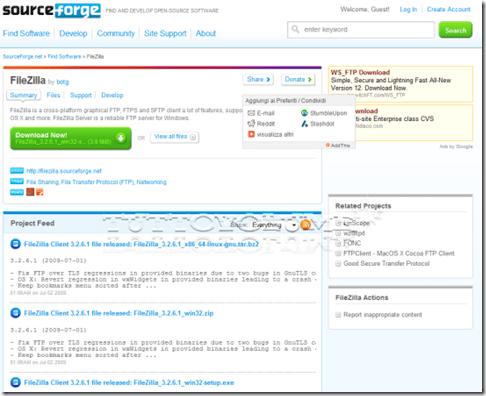 SourceForge details