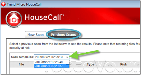 housecall 7 report