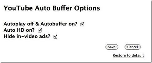 You Tube Auto Buffer
