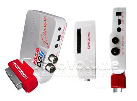 Decoder DVB-T Mini Scart 6 in 1 WDT355SD