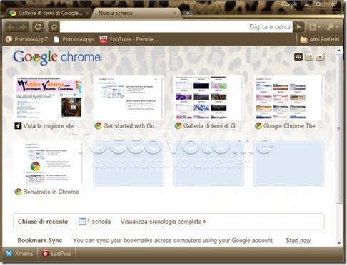 Google Chrome Tema Dolce e gabbana