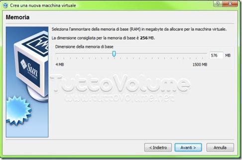 Chrome OS Memoria sistema virtuale