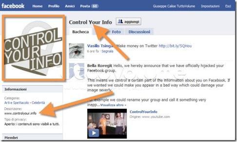 Facebook sotto attacco
