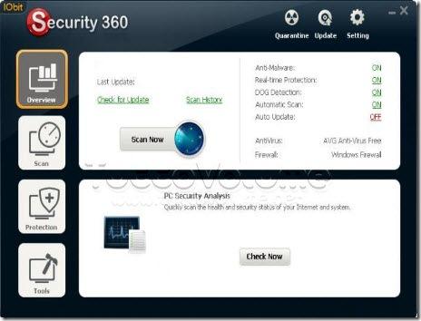 latest iobit security 360 free