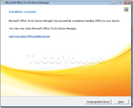 Office Starter to-go procedura completa