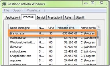 Processo Firefox