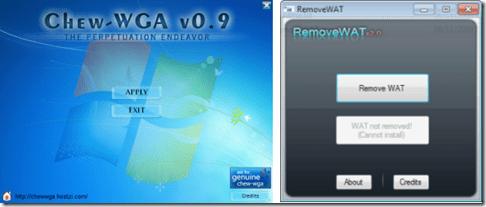 Remove WAT -Chew-WGA