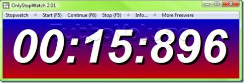Stop Watch cronometro portable