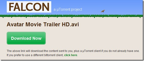 Send Torrent Falcon
