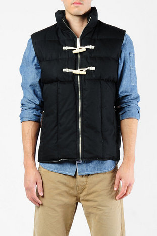 Garbstore Penfield Collab 1930s Life Preserver Vest in Black