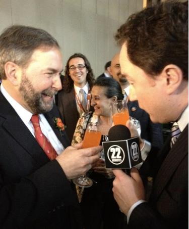 Mulcair and Critch