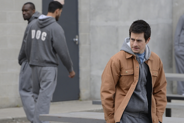 Craig Olejnik in CTV's 'The Listener.' Episode 512 'An Innocent Man.' Photo from Bell Media.