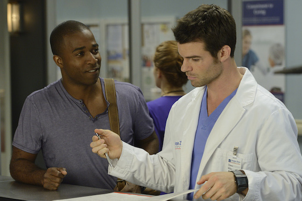 Daniel Gillies in CTV's 'Saving Hope.' Photo from Bell Media.